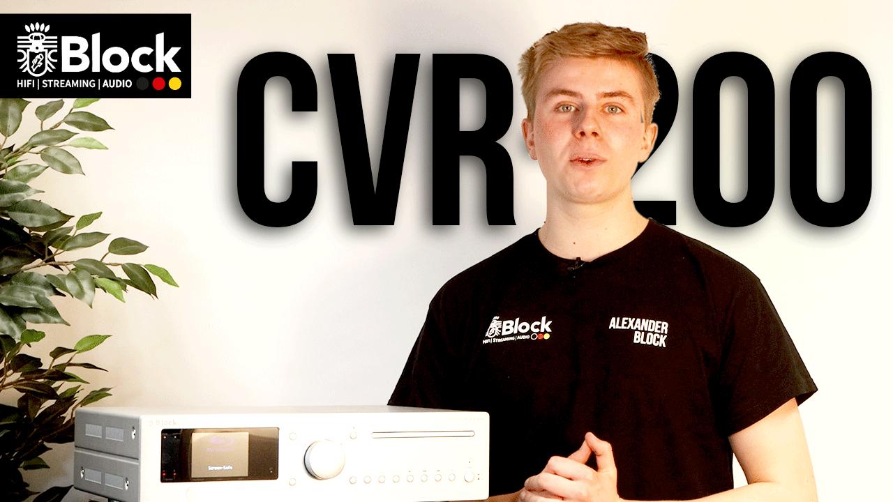 Audioblock auf Youtube! Block-Tuts mit dem CVR-200